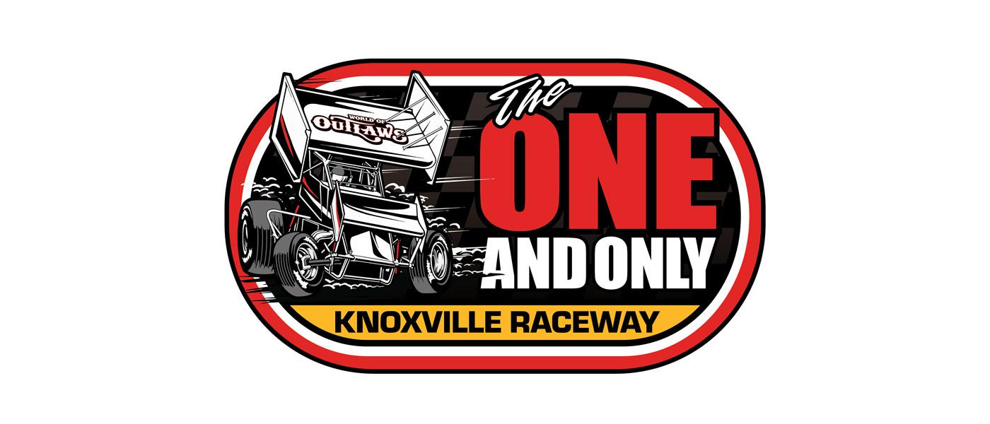 Knoxville Raceway The One And Only event logo