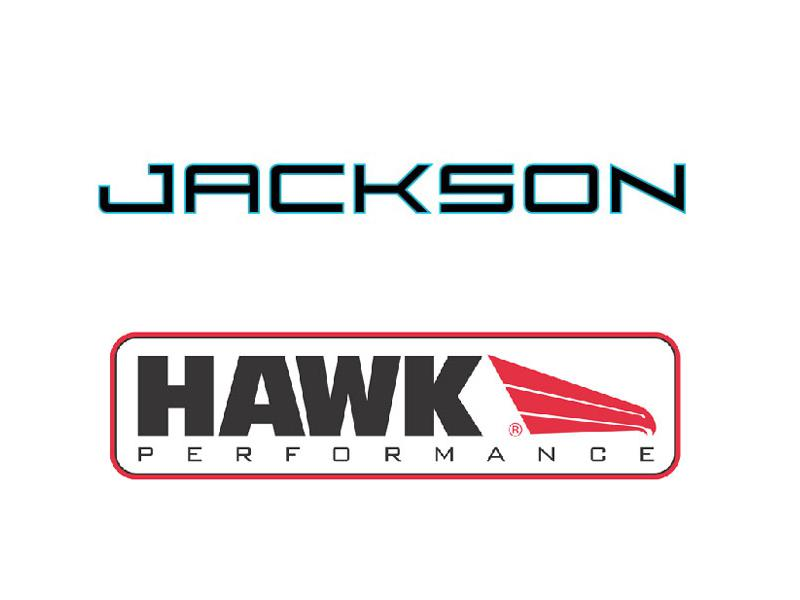 Jackson logo and Hawk Performance logo