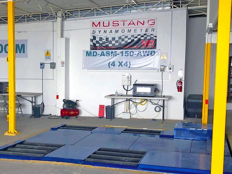 Mustang Dynamometer Mexico City demonstration facility