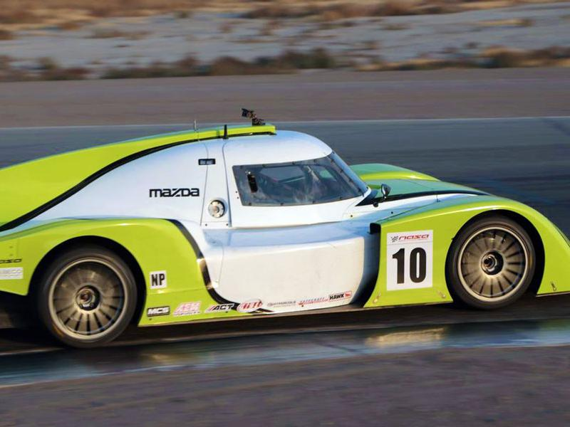 NASA NP01 prototype race car