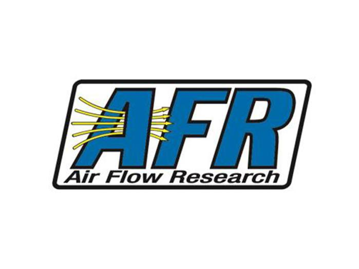 Alex George headshot, Air Flow Research logo