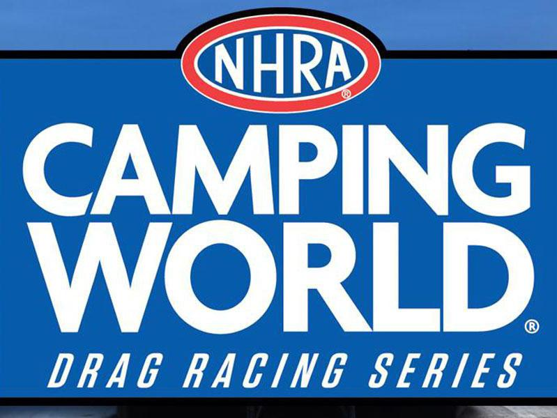 National Hot Rod Association (NHRA) Camping World Drag Racing Series logo