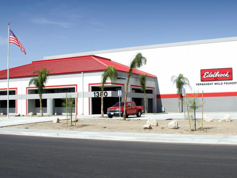 Image of Edelbrock's San Jacinto, California location