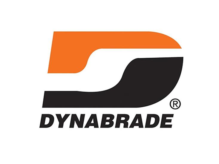 ​​​​​​​Dynabrade Inc logo, photo of Hardy Hamann crossing his arms